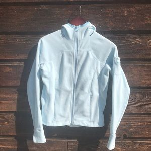 Powder blue Columbia fleece